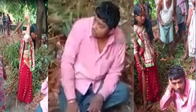 धोखे से शादी कर दूसरी पत्नी को घर लेकर पहुंचा शख्स, दोनो पत्नियों ने मिलकर झाड़ू-चप्पल से की पिटाई, वीडियो वायरल