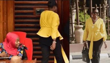 महिला सांसद को 'बहुत ज्याेदा टाइट' पैंट पहनना पड़ा भारी, संसद से बाहर निकाला