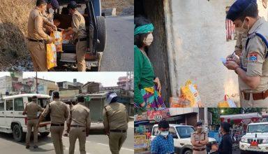 कोविड के दौरान लोगों की मदद के लिये शुरू किया पुलिस का अभियान 'मिशन हौसला' का अंतिम चरण