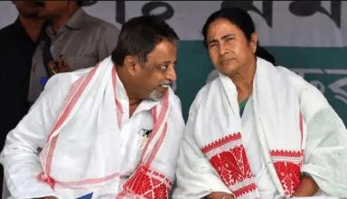 BJP के  मुकुल रॉय हुए TMC के, ममता ने कहा- अपनों का स्वागत, गद्दारी करने वालों का नहीं
