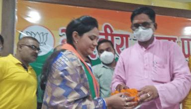 गाजीपुर से BJP ने सपना सिंह को बनाया जिला पंचायत अध्यक्ष पद का उम्मीदवार, भाजपा नेता मुकेश सिंह की छोटी भाभी हैं सपना सिंह