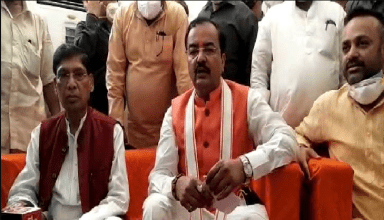 उप-मुख्यमंत्री केशव मौर्या ने किया आगरा दौरा, आगरा और मथुरा को दी 485 करोंड़ की सौगात