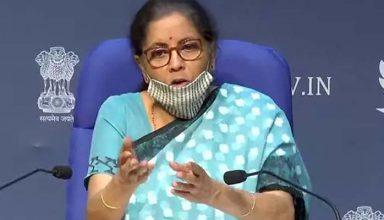 वित्त मंत्री निर्मला सीतारमण ने की राहत पैकेज की घोषणा, कोरोना प्रभावित सेक्टर के लिए 1.1 लाख करोड़ का ऐलान