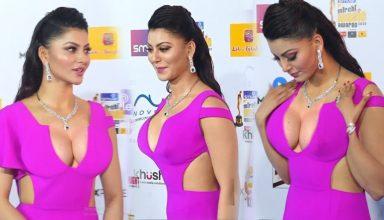 टाइट फिट ड्रेस में बेचैन हुई Urvashi Rautela, हुई Oops मोमेंट की शिकार, वीडियो वायरल