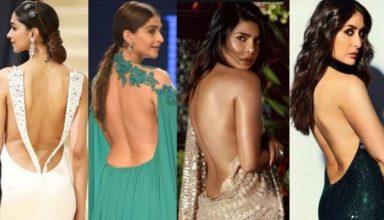 Deepika Padukone से लेकर Alia Bhatt तक Backless ड्रेस में दिखीं बेहद हॉट, देखें PHOTOS