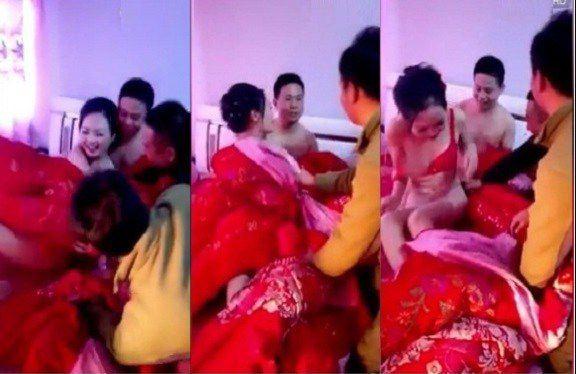 अनोखा रिवाज : शादी के बाद दूल्हे के दोस्त उतारते हैं दुल्हन के कपड़े, दूल्हा बना रहता है मूकदर्शक