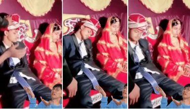 Wedding Video: शादी की रस्मों के बीच स्टेज पर ही सो गया दूल्हा, जगाने की कोशिश में जुटे लोग, फिर क्या हुआ…