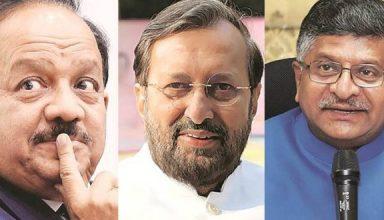 क्या है मोदी मंत्रिमंडल से रविशंकर, जावड़ेकर और हर्षवर्धन जैसे दिग्गज मंत्रियों के बाहर जानें का असली कारण