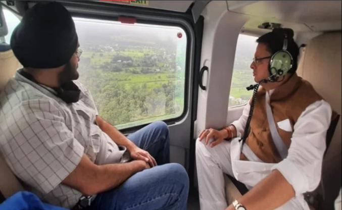 CM पुष्कर सिंह धामीं ने किया गढ़वाल के आपदाग्रस्त इलाकों का हवाई सर्वेक्षण, प्रवास पर निकलेंगे सभी मंत्री