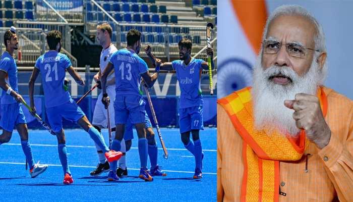 Tokyo Olympics: भारतीय पुरुष हॉकी टीम के जीत से फूले नहीं समा रहे हैं पीएम मोदी, किया दो-दो ट्वीट