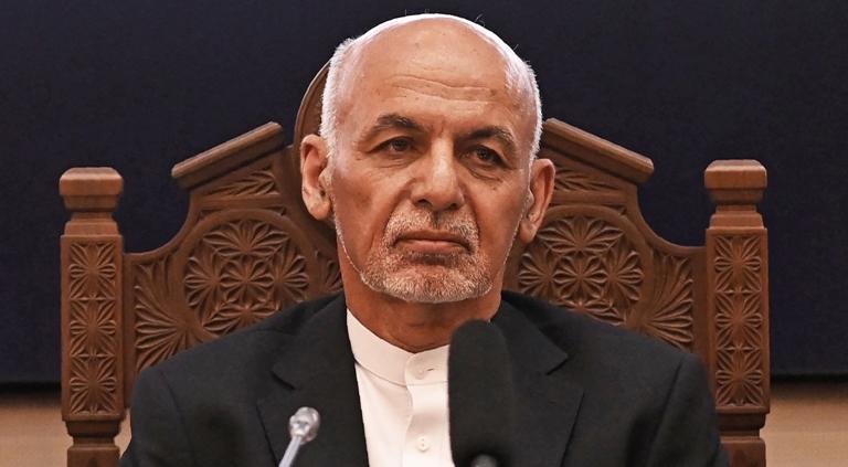 अफगानिस्तान के पूर्व राष्ट्रपति ने किया पैसे लेकर भागने के आरोपों से इनकार, वीडियो संदेश जारी कर दी सफाई