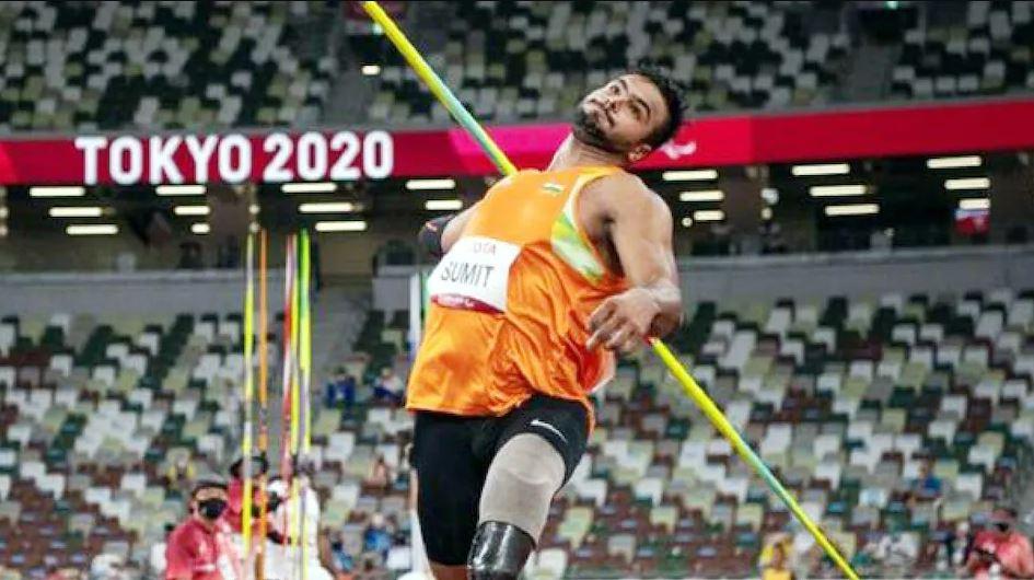 Tokyo Paralympics 2020: जैवलिन थ्रो में अपना रिकॉर्ड तोड़ते हुए सुमित अंतिल ने जीता गोल्ड, भाला फेंक में भारत का तीसरा पदक