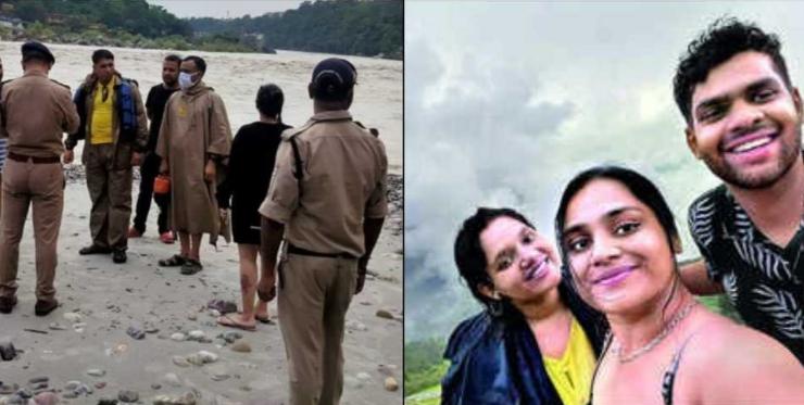 पढ़ाई के लिए विदेश जाने से पहले मुंबई के 3 साथी आये थे हरिद्वार, गंगा में नहाते वक्त डूबे