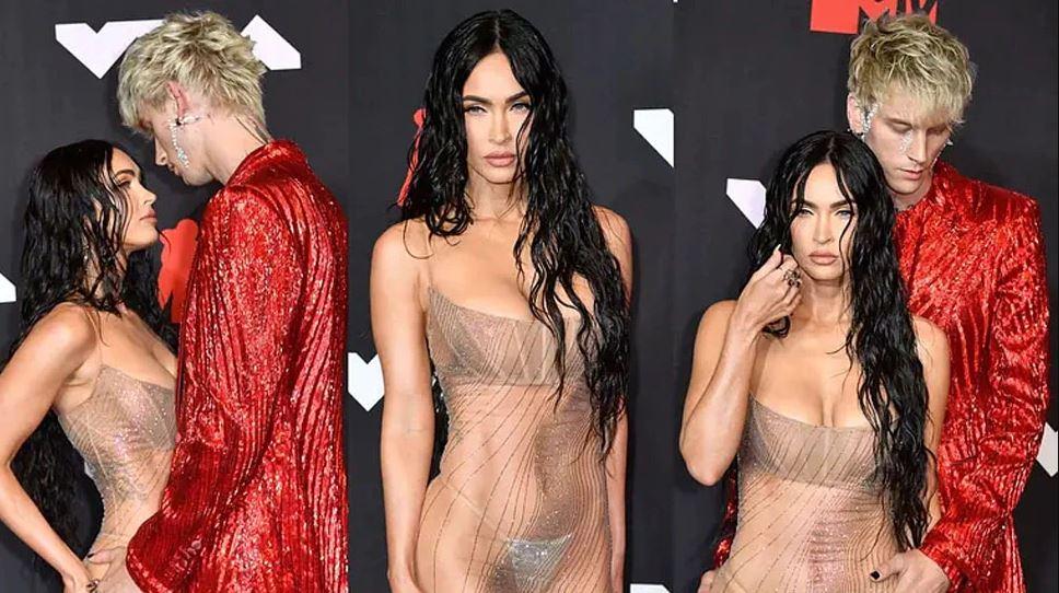 ट्रांसपेरेंट ड्रेस पहनकर रेड कार्पेट पर पहुंची ये एक्ट्रेस, साफ नजर आ रहे थे इनर वियर, देखें Photos