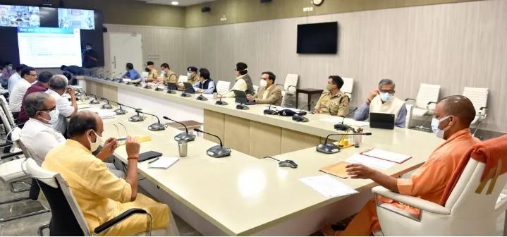 CM योगी ने DM,SSP और SP के साथ की समीक्षा, डेंगू, वायरल फीवर, अपराध व अपराधियों पर नियंत्रण की ली जानकारी
