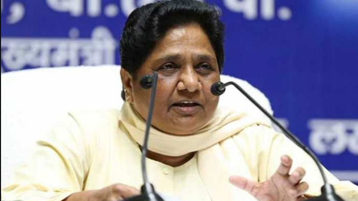 ABP सी-वोटर सर्वे को मायावती ने बताया भ्रामक, सर्वे में BJP की बनती दिख रही पूर्ण बहुमत की सरकार