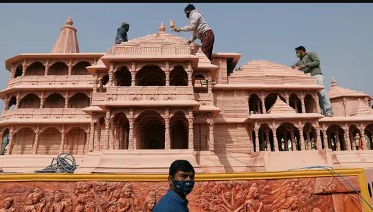 राम मंदिर परिसर में 6 मंदिर बनने का एलान, योगी सरकार के सहयोग से 18 महीने का काम 5 महीने में पूरा