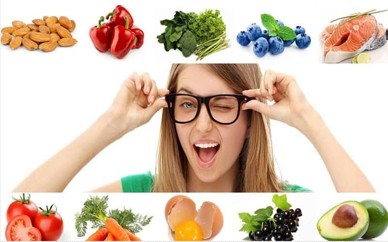 अपनी आखो के लिए स्वस्थ आहार के बारे में यहाँ जाने