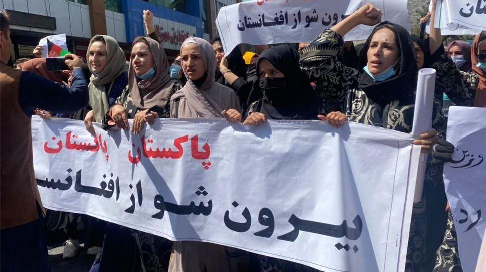 काबुल में लगे पाकिस्तान मुर्दाबाद के नारे से बौखलाया तालिबान, प्रदर्शन कर रहे लोगों पर की फायरिंग, पत्रकारों को भी उठाया