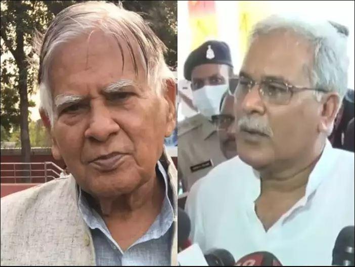 विवादित बयान मामले में छत्तीसगढ़ के सीएम भूपेश बघेल के पिता गिरफ्तार, कोर्ट ने 15 दिनों की न्यायिक हिरासत में भेजा